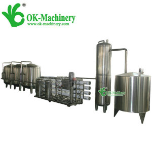 Automatic industrial water treatment equipment