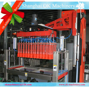 Automatic Bottle Case Filling Packer Line