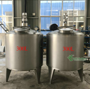 steam /electric melt tank for cola soft drinks (500L)