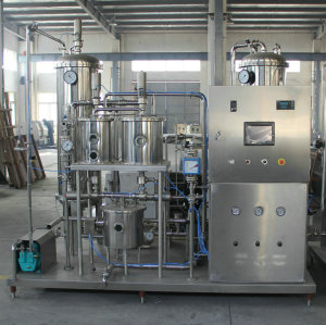 CO2 mixer in carbonated dink production line