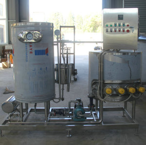 UHT sterilizer for juice