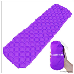 Ultralight Sleeping Pad - Ultra-Compact for Backpacking, Camping, Travel w/ Super Comfortable Air-Support Cells Design