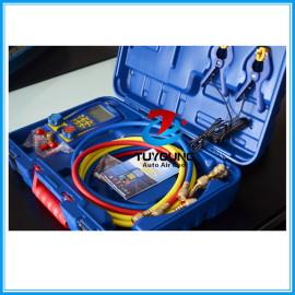 repair tools for Digital Refrigeration Vacuum Manifold Pressure Gauge Tester Meter Manometer to test Compressor