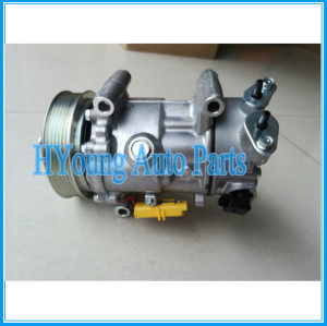 Factory direct sale 6C12 A/C compressor for PEUGEOT 307 9670318880 9659875780 9678656080 9651910980 9671216280 6453WK 6453WL