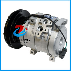 CO 11301C auto ac compressor for John Deere Komatsu Kobelco Hitachi 24 volt agriculture 10S15C 20Y9796121 4472204052 20Y9793111