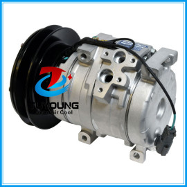 John Deere Komatsu Kobelco Hitachi auto ac compressor 24v agriculture 10S15C 20Y9796121 4472204052 20Y9793111