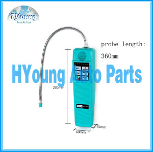 auto air conditioning system HLD-100 Halogen gas tester refrigerant leak detector R134a R12 R22 R600a, car ac repair tool
