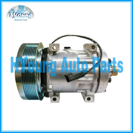 SD 7H15 86993463 AC Compressor for Tractors Case IH 245 255 275 385 435 535 New Holland 317008A3 86992688 504078610