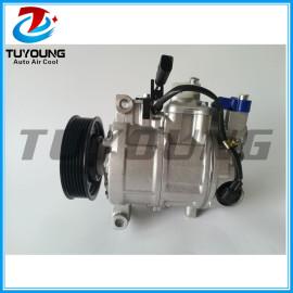 Factory direct sale auto parts A/C compressor 6SEU14C fit AUDI A4 A6 4471806583 4F0260805M