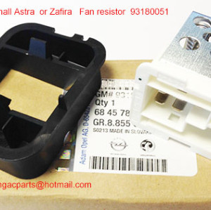 New Heater Blower Motor Resistor use OE NO. 90560362 , 52475432 , 93180051 for Vauxhall / Opel Zafira Astra
