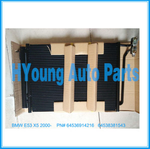 Auto air ac Condenser For BMW E53 X5 2000- oem 64536914216 64538381543