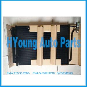 Auto air ac Condenser For BMW E53 X5 2000- oem 64536914216 64538381543