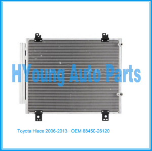 Auto Air Conditioner ac Condenser For Toyota Hiace 2006-2013 OEM 88450-26120