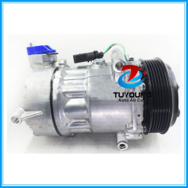 7V16 automotive air conditioner a/c compressor for VW Lavida air pump with one year warranty