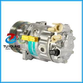 SD7C16 Compressor do ar condicionado for Peugeot 407 607 Citroen C5 1.6 C6 9660555480 9660555480 9663315580 6453VJ 6453SH