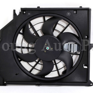 Car Front Radiator Cooling Fan fit BMW 323Ci 323i 325i 325xi 328Ci 328i 330Ci 330i 17117561757 17117510617