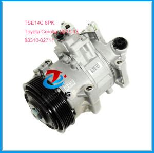 TSE14C auto air conditioning compressor for Toyota Corolla Matrix 2011-13 CG447280-9060 88310-02711