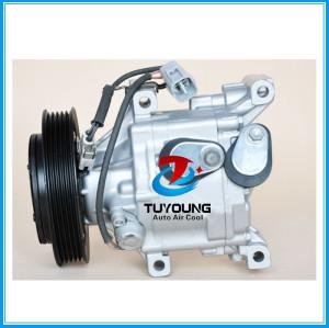 SCSA06C 77612 78612 auto ac compressor fit Toyota Corolla Yaris 88310-0D091 88310-0D180 88310-52400 447180-8670 447220-6534 447260-7360