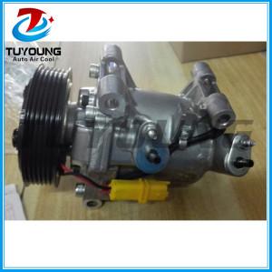 Factory direct sale auto parts a/c compressor for Peugeot 301 Citroen C-Elysee JSR11T602078 9676011680 9806599380