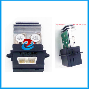 7702206221 AC Blower Heater motor Resistor for Renault 19 21 7702206221 7701033535 508588