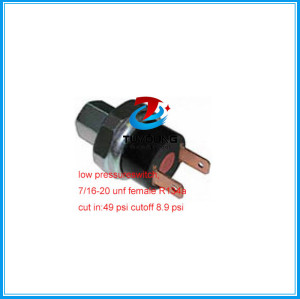 Universal Vehicle air a/c pressure swith 7/16-20 UNF FEMALE, OFF:0.2kg/cm2, ON:0.8kg/cm2