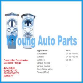 Auto Expansion Valve for Caterpillar Eurotrakker Eurostar Flange 42555008 6298350172 A6298350172 2993671