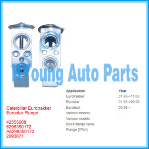 Auto Expansion Valve for Caterpillar Eurotrakker Eurostar Flange 42555008 6298350172 A6298350172 2993671