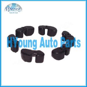 denso clutch pulley plastic Rubber , auto ac compressor spare parts