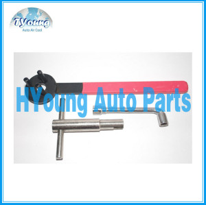 Auto ac Compressor Clutch Sucker Disassembly Tool / Manual Pneumatic Removal Wrench Tool/ car ac repair tool