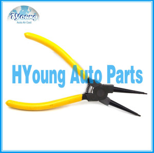 Vehicle air conditioning system Straight Plier Hand Tool, repair tool Professional Circlip Pliers with 175 mm length