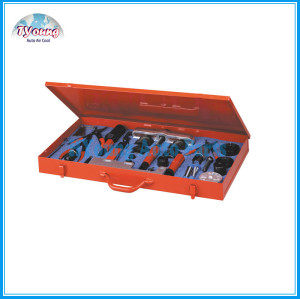 MASTER SANDEN COMPRESSOR SERVICE TOOL SET, service seal, clutch and clutch bearing on Sanden 505, 507, 508, 510 and 575