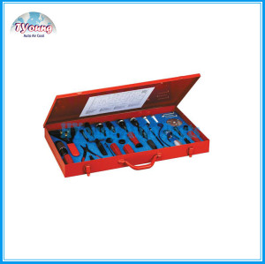 Car a/c compressor & clutch & shaft seal oil etc Remover Installer MASTER SEAL SERVICE TOOL SET