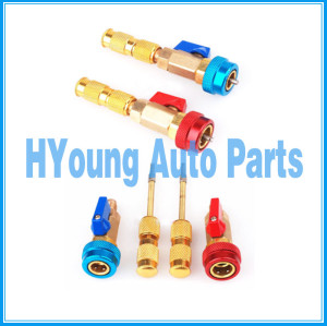 Air Conditioning Valve Core Quick Remover Installer , High Low Valve Repair Tools R134a R12, China supply