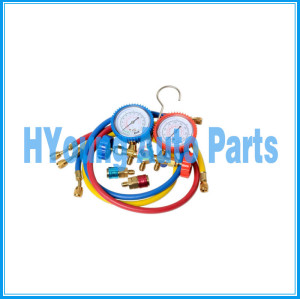 HVAC auto Air Conditioner System A/C Manifold Gauges Set China supply