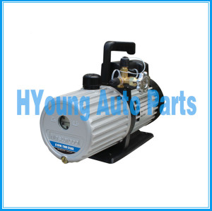 90068-2V-110-B 8 CFM Vacuum Pump (TWO STAGE), 3/4 HP, 1720 RPM Pump Speed,110 V/120 V / 60 Hz, 38 x 18 x 27CM, 16KG