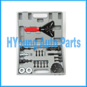 Air Conditioner Car Compressor Clutch Hub Remover Installer Kit Removal Tools