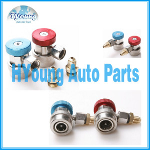 Automotive a/c High Low pressure Adjustable Quick Coupler