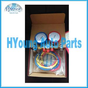 R134a Hose digital pressure gauge / diagnostic manifold gauge tester