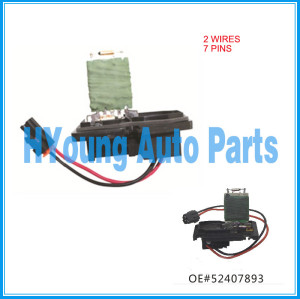 2 wires 7 pins Heater Blower Resistor for GM Chevy OEM 52407893