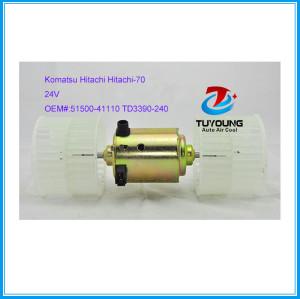 Blower Fan Motor for Komatsu Hitachi Hitachi-70 Excavator 5150041110 TD3390240 24V