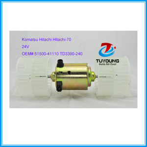 Blower Fan Motor for Komatsu Hitachi Hitachi-70 Excavator 5150041110 TD3390240 24V