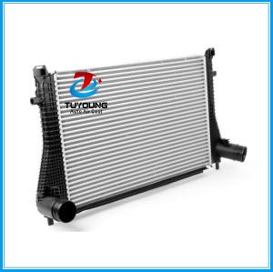 Auto air Intercooler fit VW golf mk7 Audi Quattro OE#5Q0145803N 5Q0145803K Radiator