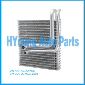 Automotive air conditioning evaporator for VW GOL Gen 5 / VOYAGE 2008-
