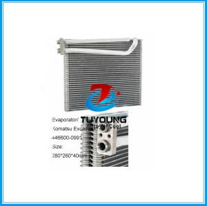 Auto A/C Evaporator Komatsu Excavator OEM# 446600-0991 Size280*260*40mm