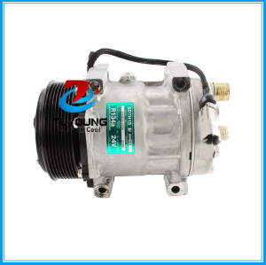 SD7H15 Universal vehicle AC Compressor 8pk 24 V 123mm 30926801 sd 8262 R134a