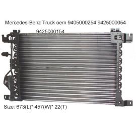 auto A/C condenser fit Mercedes-Benz Actros/Axor/Atego Series truck 2002-2011 9405000254 9425000054 9425000154