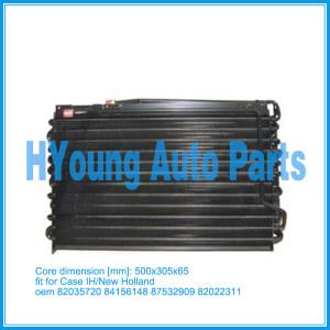 Case IH MXM 135 / 185 /New Holland TM / TS /Steyr Ford air condenser core size 500x305x65mm PN# 82035720 84156148 87532909 82022311