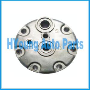 automotive air conditioning compressor rear head fit Sanden 709 SD7H15