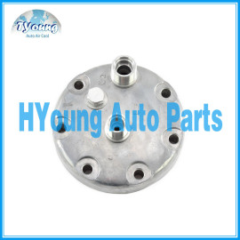Back piece SD 7H15 Marked KH O-ring with safety valve 8 '' 10 '' auto a/c compressor rear head