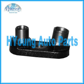 DKS straight back 8 '' 10 '' auto a/c compressor rear head
